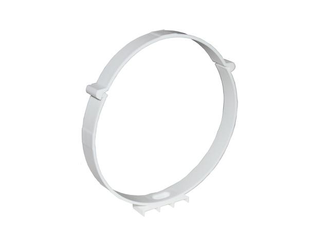 держатель ЭРА D125мм пласт белый