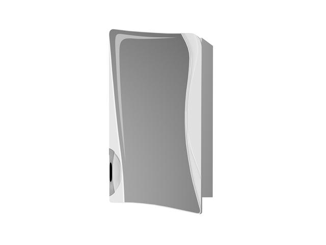 шкаф зеркальный RAVAL Folle 45см белый