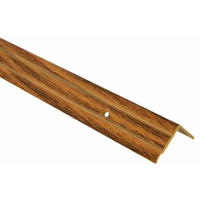 порог алюм. угол 24х18мм 1,8м декор. дуб ангийский Д3