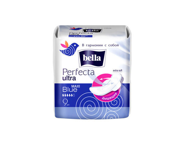 прокладки BELLA Perfecta Ultra Maxi Blue Extra Soft 8шт