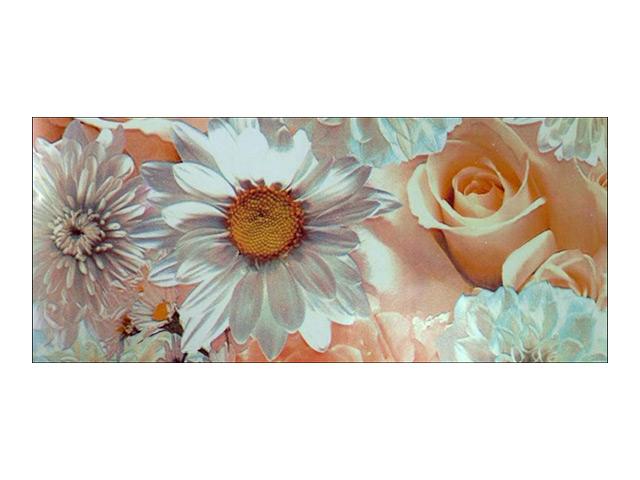 пленка самокл.DELUXE 45см х 2м свадебные цветы, арт.2169
