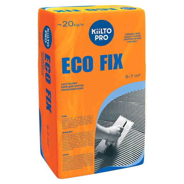 клей для кафельной плитки KIILTO Эко Фикс 20кг, арт.Т6208.020