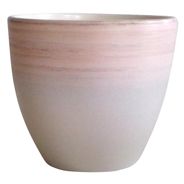 горшок керамический с поддоном, 4,7 л
