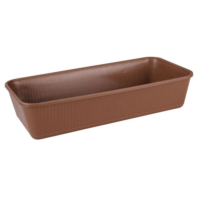 ящик для рассады 410х185х90мм пластик ящик для рассады archimedes урожай 2