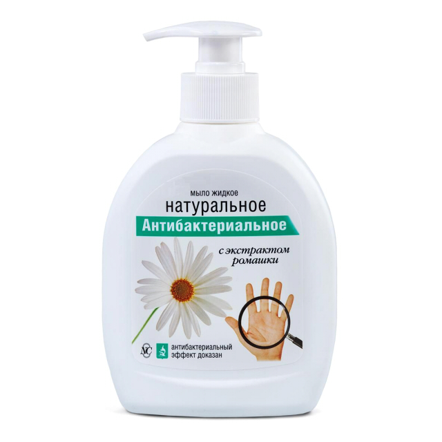 мыло жидкое НК Натуральное антибактериальное, 300 мл