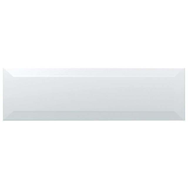 плитка настенная 28,5х8,5 ГАММА, белый