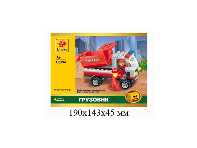 конструктор Строительная техника UMIKS в ассортименте kdw строительная техника колесный погрузчик игрушечные грузовики и строительная техника игрушечные машинки машинки с инерционным