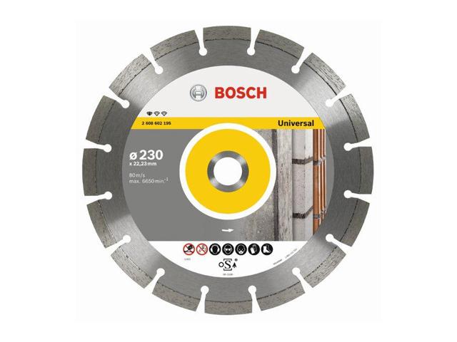 диск алмазный BOSCH BPE 115х22,2х2,0 мм, сегментный