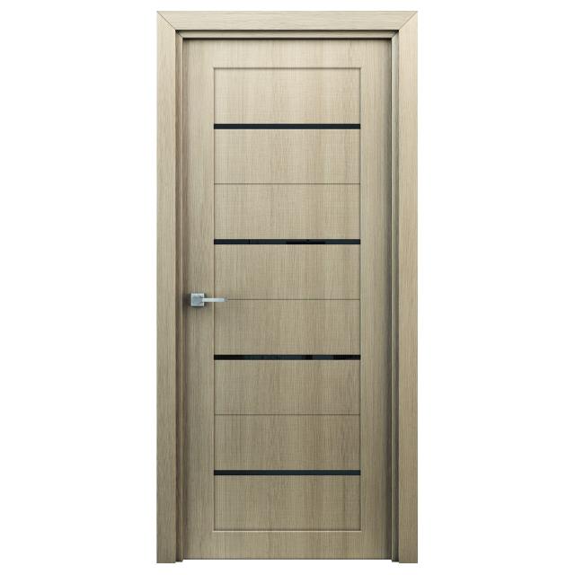 полотно дверное Орион ПО 600 капучино ламинация