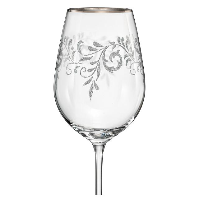 набор бокалов CRYSTALEX Виола Romantic 6шт 350мл вино стекло