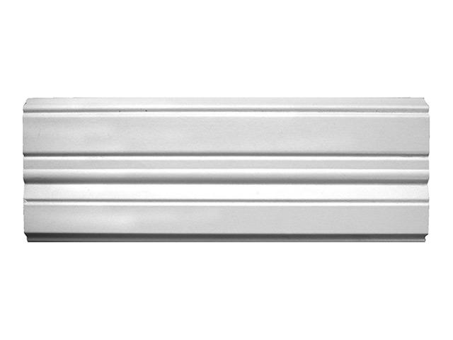 наличник МДФ фигурный Smartprofile, 111х2200 мм, белый, под покраску