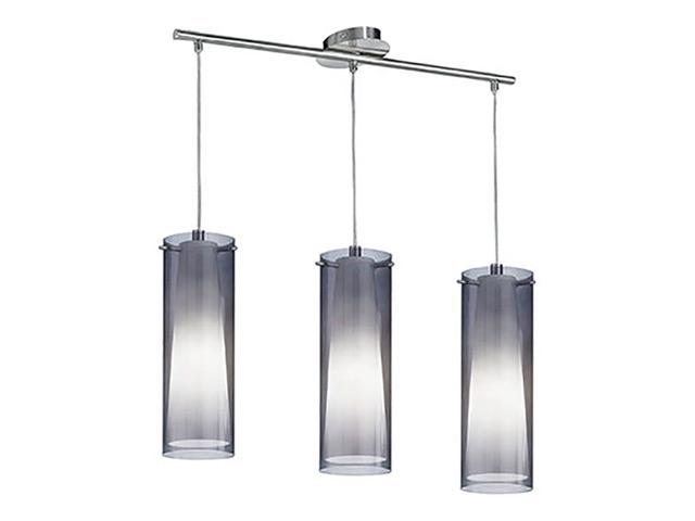 светильник подвесной EGLO Pinto 3x60Вт E27 стекло,металл цена и фото