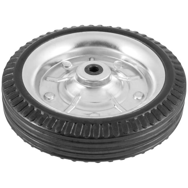 колесо металлическое 145мм резина