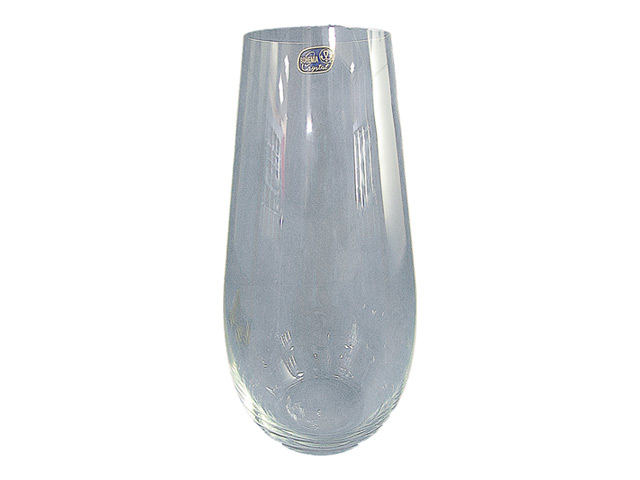 ваза CRYSTALEX 30см стекло гладкая прозрачная