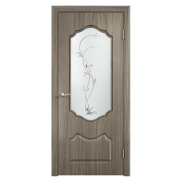 полотно дверное Венера ПО 800 вишня малага худ. ст.