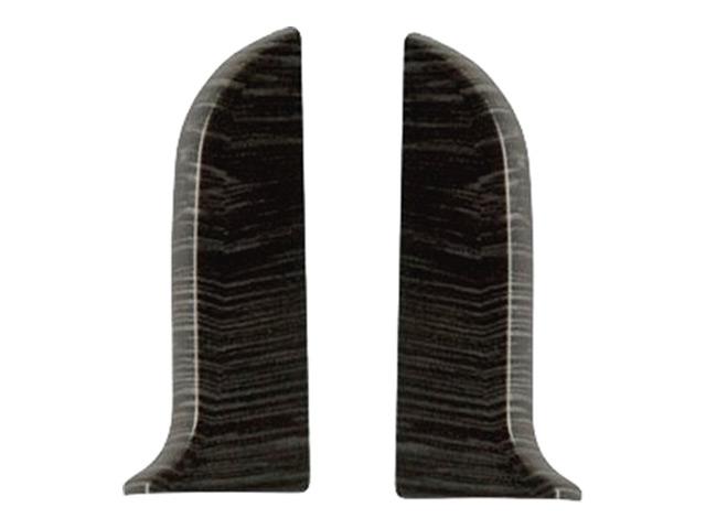 Фото - заглушки для плинтуса ПВХ SALAG NGF 56мм Дуб горелый левая+правая заглушки для плинтуса пвх salag ngf 56мм дуб каньон левая правая