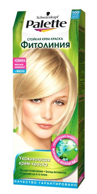 краска д/волос PALETTE Фитолиния N100 Скандинавский блондин мэджик врэп пакетики д снятия шеллака n100