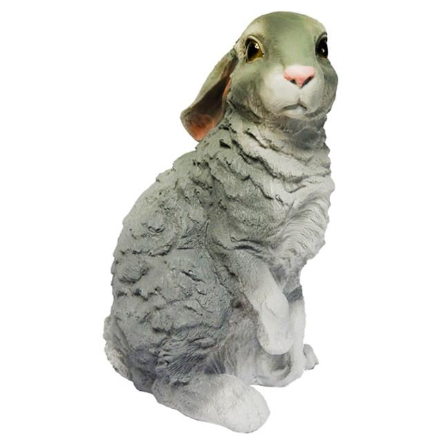 фигура садовая Заяц 36см садовая фигура заяц с коромыслом h 35см