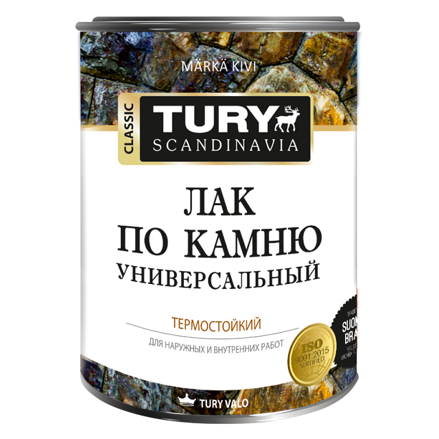 лак органосиликатный TURY по камню 0,68кг, арт.T1-00006116 лак паркетный tury п мат дворц 0 9л арт лак tury п м 0 9
