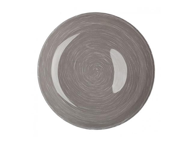 тарелка LUMINARC Стоунмания Грей 20см глуб. стекло тарелка десертная стоунмания грей 20 5см 792452