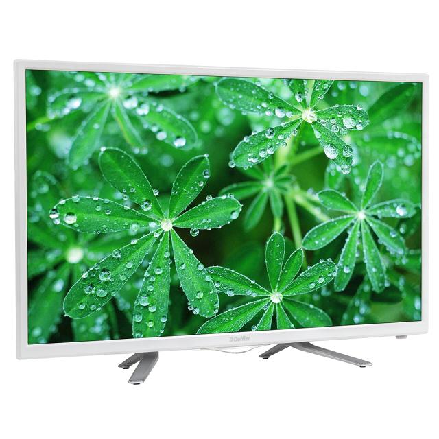 телевизор ЖК DOFFLER 32CH53-T2 W 32цифр.тв DVB-T2 бел. телевизор doffler 32dh49 t2