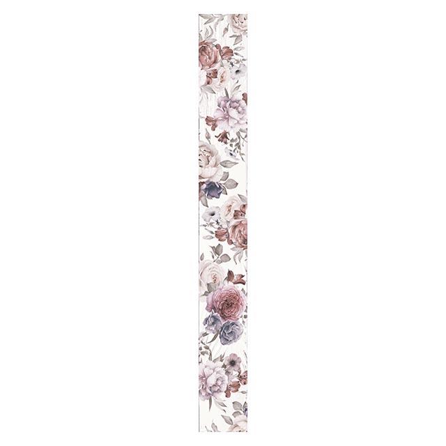 бордюр настенный 7x60 ШЕББИ ШИК, белый бордюр cifre ceramica trace listelo pattern warm 7x60