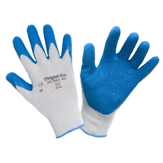 перчатки нейлоновой с покрытием из вспененного натурального