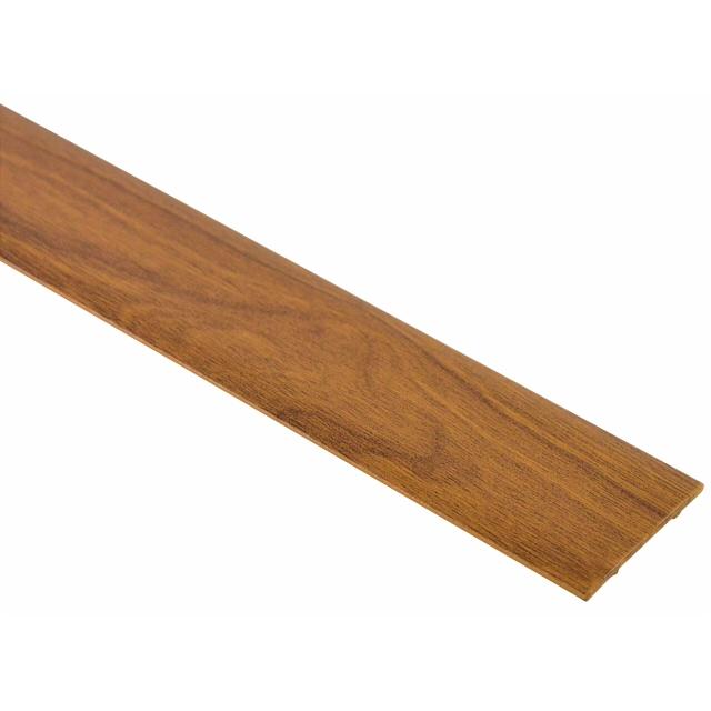 порог алюм. стык 35мм 1,8 декор. дуб лионский ВС35 с/кл.