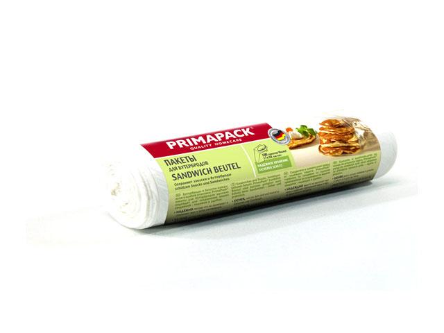 пакеты для бутербродов PRIMA PACK 1 л, 100 шт в упаковке