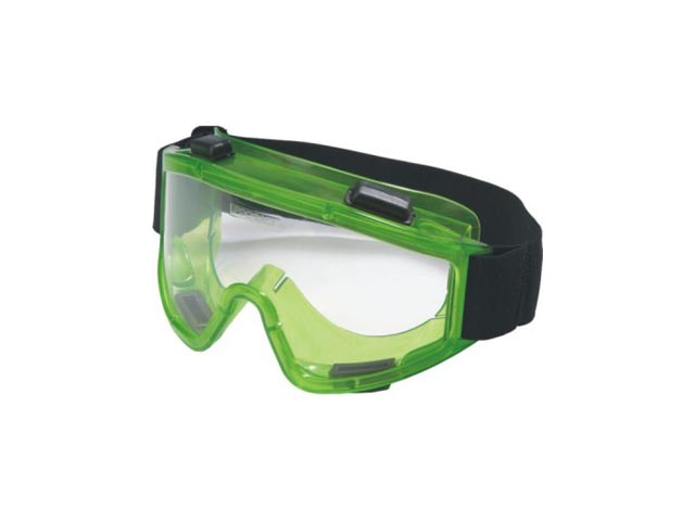 очки защитные РОСОМЗ закрытые зеленые