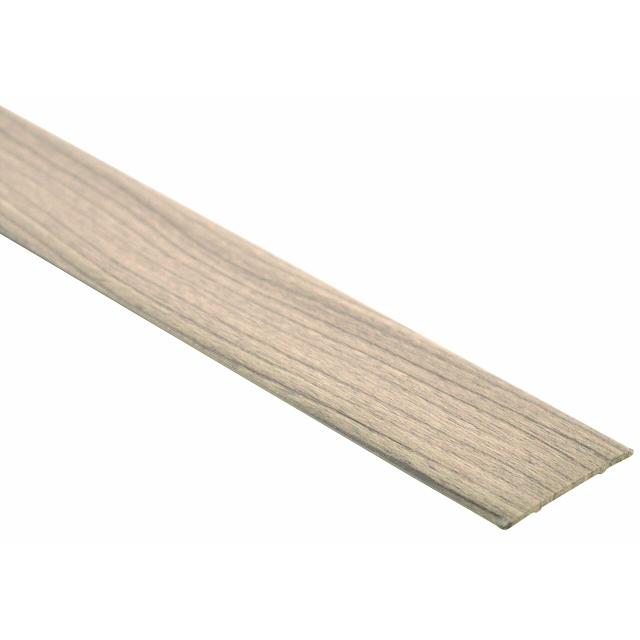 порог алюм. стык 35мм 1,8 декор. сосна серебристая ВС35 с/кл.