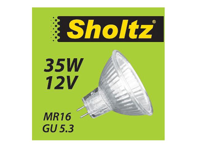 лампа галогенная 35Вт GU5.3 MR16 12В SHOLTZ osram gy6 35 12в 35вт 3000k 364629