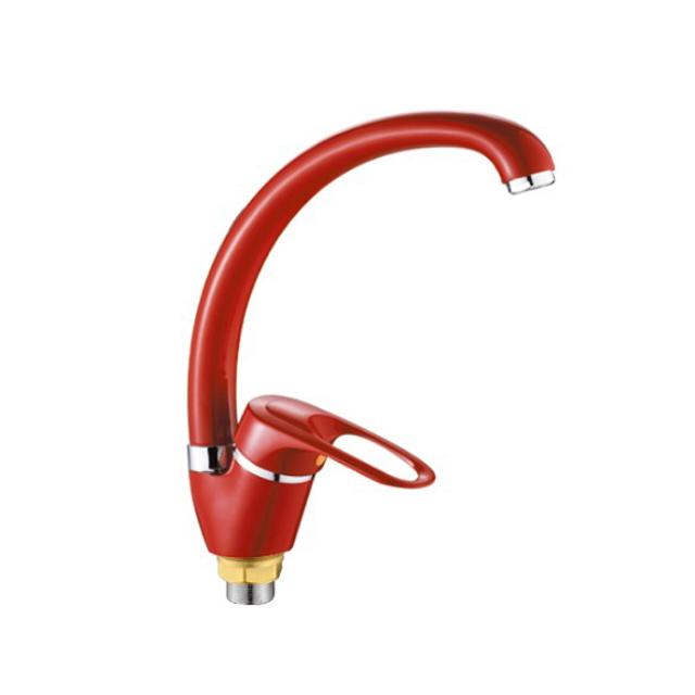 смеситель д/кухни РМС SL77R-011F красный смеситель для кухни рмс sl77w 017f 1