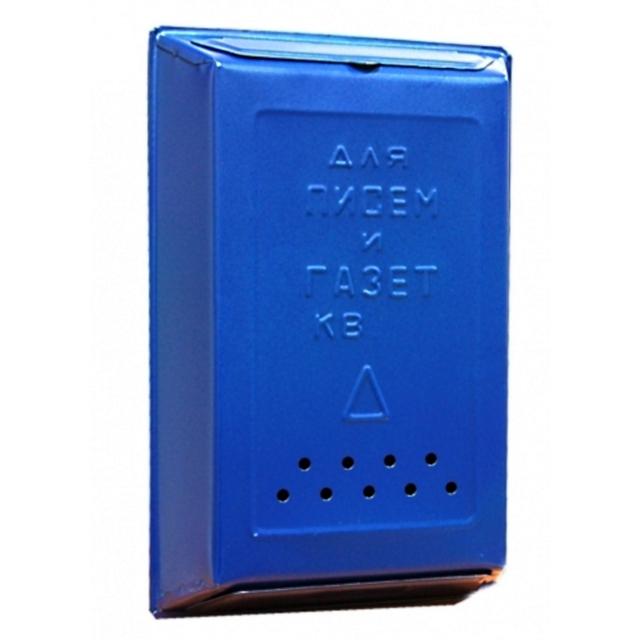 ящик почтовый, 400х260х70 мм, цвет: синий