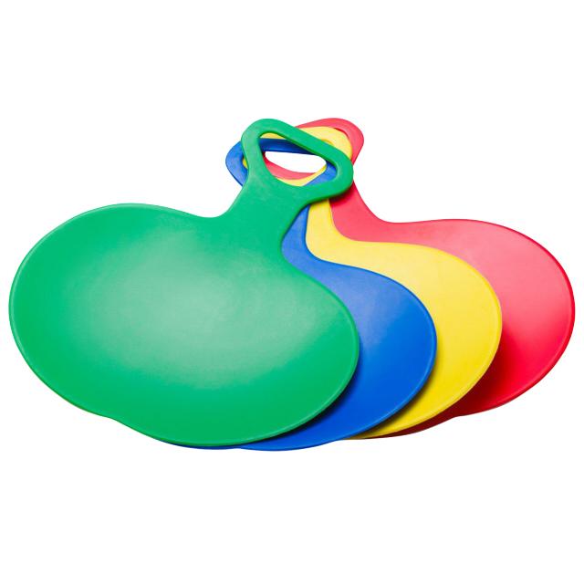 ледянка 38см пластик ледянка нло цвет в ассортименте