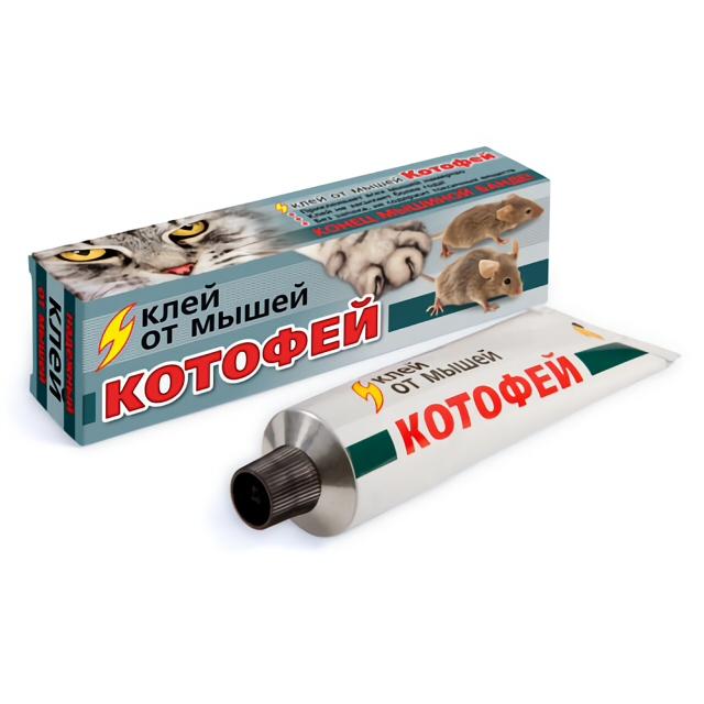 средство от мышей Котофей клей 135г