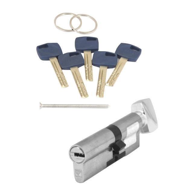 цилиндр ключевой APECS Premier XR 80мм 35х45 никель вертушка ручная прочистная вертушка домочист впр6 8