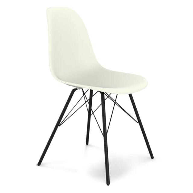 стул SHEFFILTON SHT-S37 460х540мм белый/черный муар пластик вешалка sheffilton sht wr8 черный черный муар хром лак