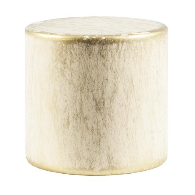 комплект наконечников УЮТ Ост 16мм цилиндр 2шт ваниль/золото, арт.17.21ТО.0194