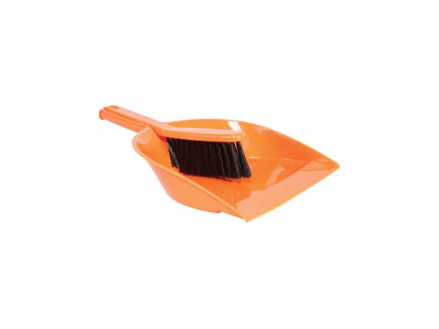 набор для уборки: щетка-сметка + совок мягкая пластик