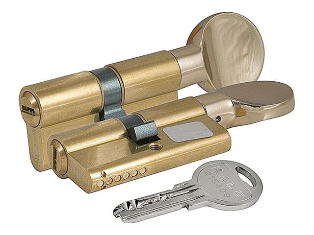 цилиндр ключевой KALE 68мм 31+37 латунь вертушка
