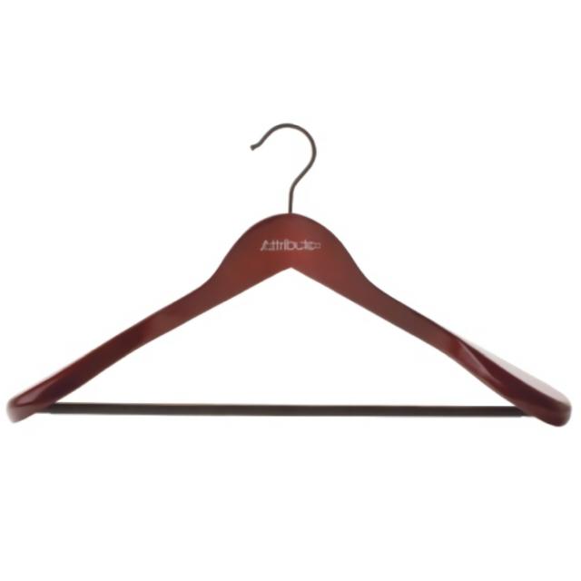 Фото - вешалка ATTRIBUTE для верхней одежды, дерево, 45 см, в асс-те вешалка рыжий кот д верхней одежды дерево 44 5см с выемками