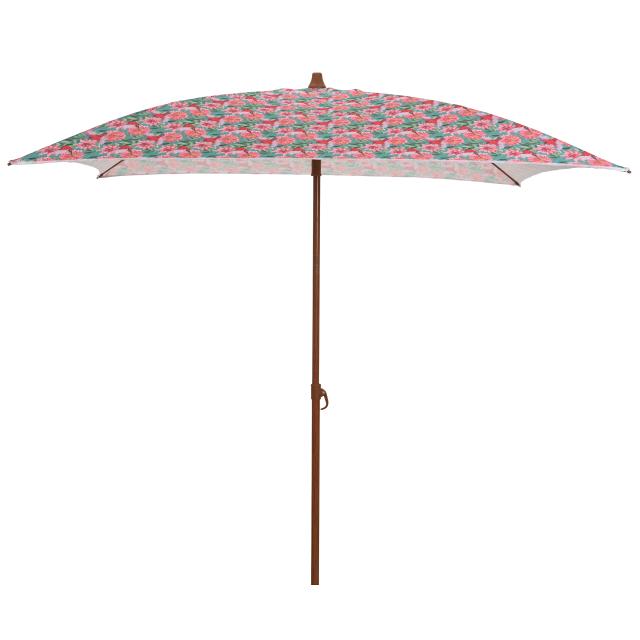 зонт пляжный с полосками 150х150х200см цветами