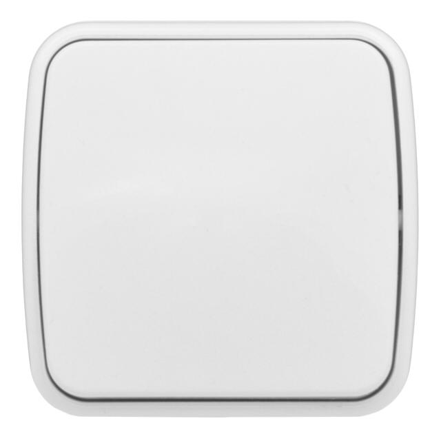 выключатель 1-клавишный EKF Минск 10А, белый, ERV10-021-10