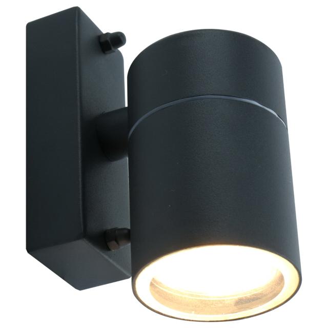 светильник уличный настенный Mistero 1х50Вт GU10 230В алюминий серый