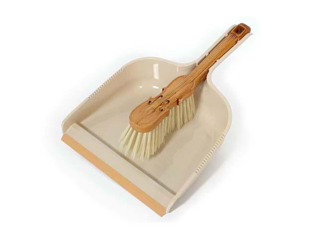 набор ддя уборки MR BRUSH Скрипка сметка+совок с резинкой пластик