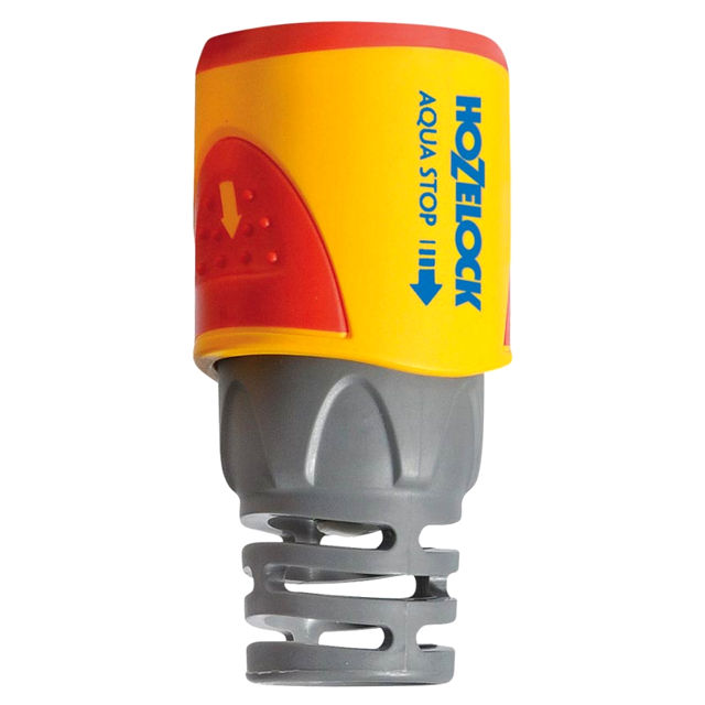коннектор HOZELOCK 1/2-5/8 с аквастопом пластик коннектор hozelock с аквастопом 1 2