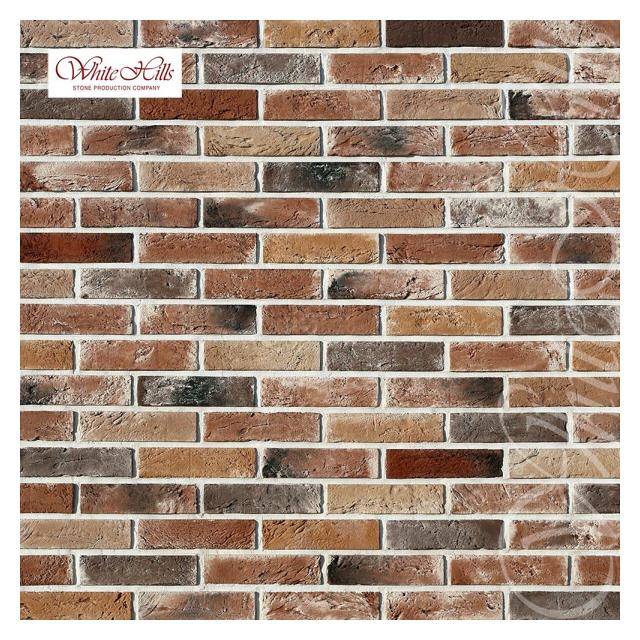 плитка декоративная бетонная WHITE HILLS Дерри Брик микс
