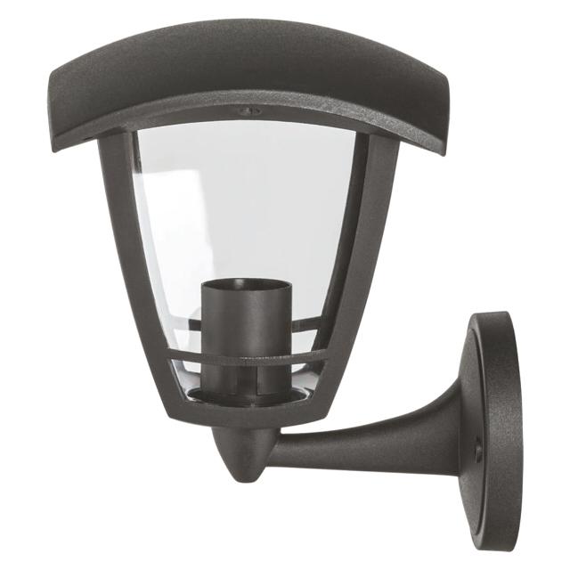 светильник уличный настенный NAVIGATOR Четырехгранник вверх 1х60Вт E27 пластик негорючий