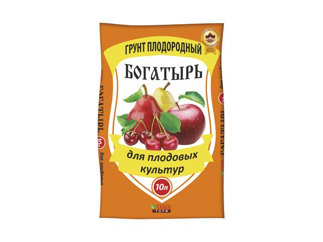 почвогрунт Богатырь Для плодовых культур 10л
